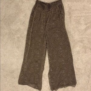 H&M Highwaisted Flare Pants